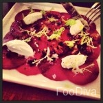 Beetroot carpaccio