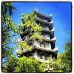 Pagoda atop Marble Mountains