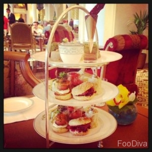 Afternoon tea at Jumeirah Zabeel Saray