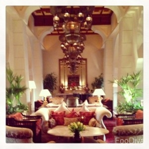 One & Only Royal Mirage, Arabian Court, Samovar Lounge