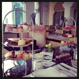 Park Hyatt afternoon tea